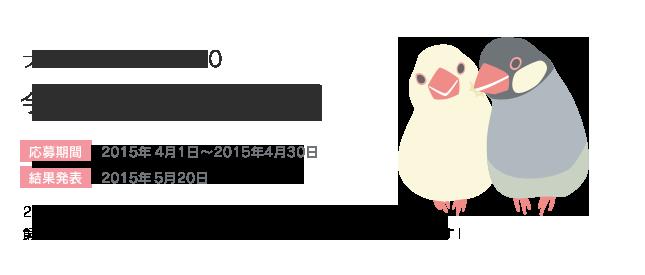 鳥フォトコンテストvol.020 テーマ「仲良し」結果発表