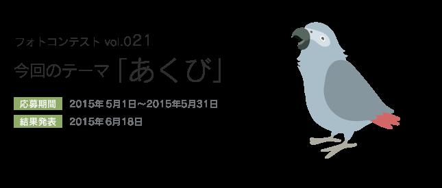 鳥フォトコンテストvol.021 テーマ「あくび」結果発表