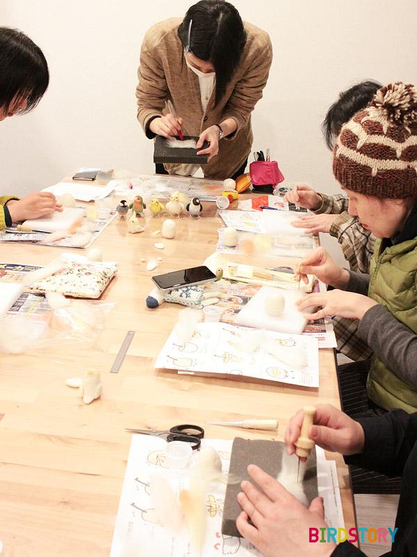 mochimochiと一緒にミニおとりさんズを作ろう!オカメインコ編 羊毛フェルト