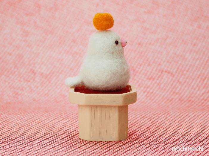 mochimochi 餅文鳥